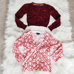 Gap and Mexx Girls Cardigans size Large